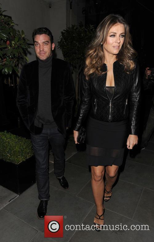 Elizabeth Hurley and Jake Maskall 1