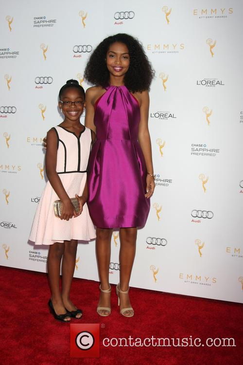 Marsai Martin and Yara Shahidi 1