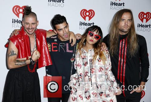 Joe Jonas and Dnce 2