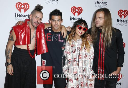 Joe Jonas and Dnce 3