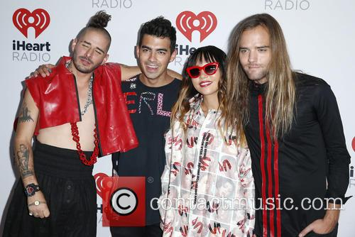 Joe Jonas and Dnce 4