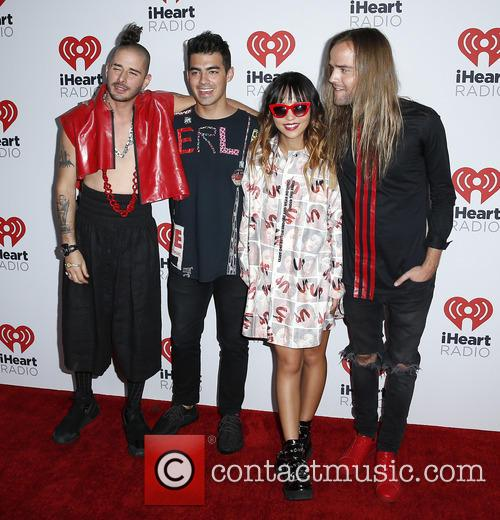 Joe Jonas and Dnce 1