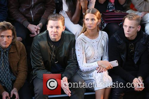 Dougie Poynter, Professor Green and Millie Mackintosh 2