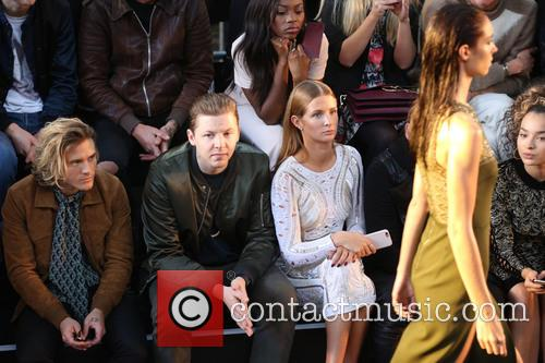 Dougie Poynter, Professor Green and Millie Mackintosh 3