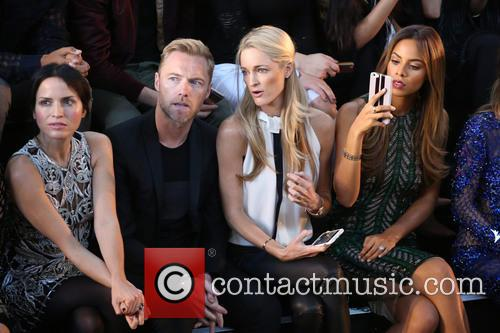 Ronan Keating, Storm Uechtritz, Rochelle Humes and Andrea Corr 2