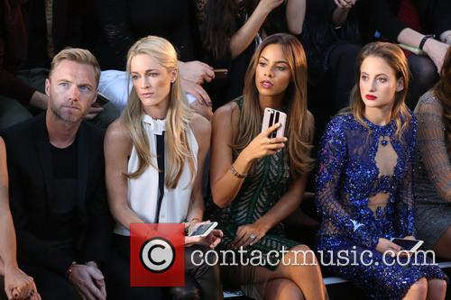 Ronan Keating, Storm Uechtritz, Rochelle Humes and Rosie Fortescue 2