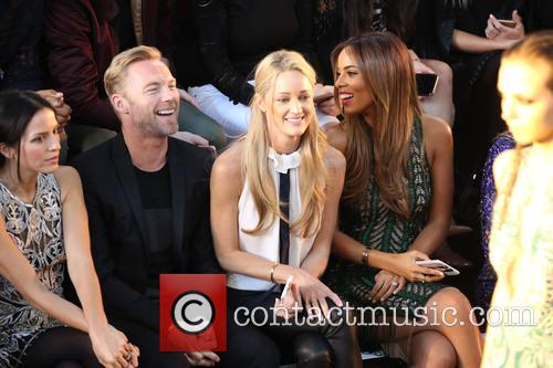 Ronan Keating, Storm Uechtritz and Rochelle Humes 2