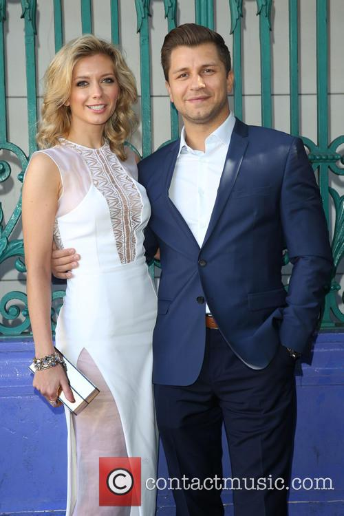 Rachel Riley and Pasha Kovalev