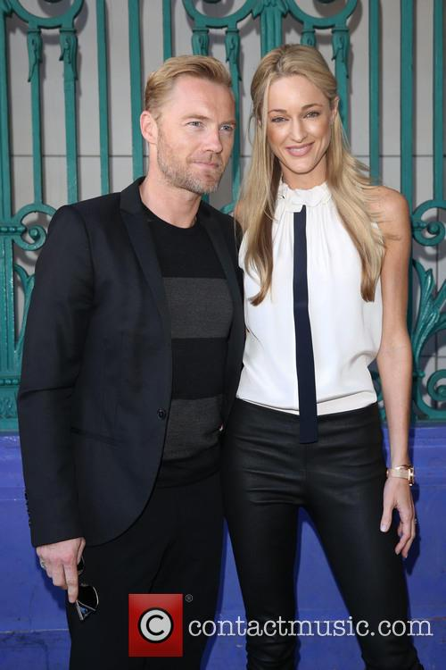 Ronan Keating and Storm Uechtritz 1