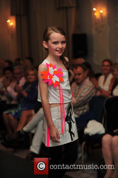 Under 16's years rock the runway at London...