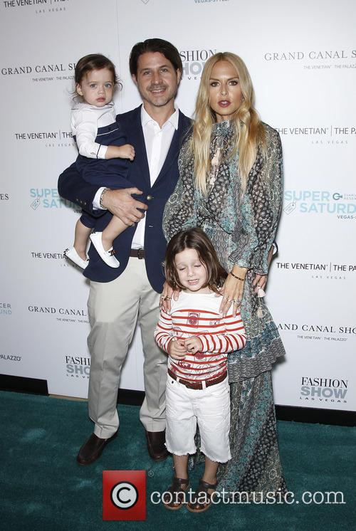 Rodger Berman, Rachel Zoe, Skyler Berman and Kaius Berman 2