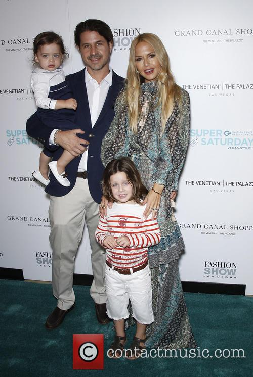 Rodger Berman, Rachel Zoe, Skyler Berman and Kaius Berman 3