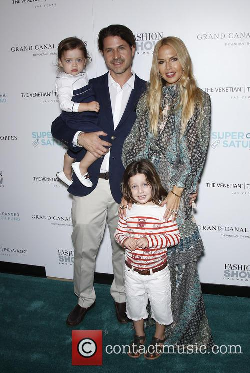 Rodger Berman, Rachel Zoe, Skyler Berman and Kaius Berman 4