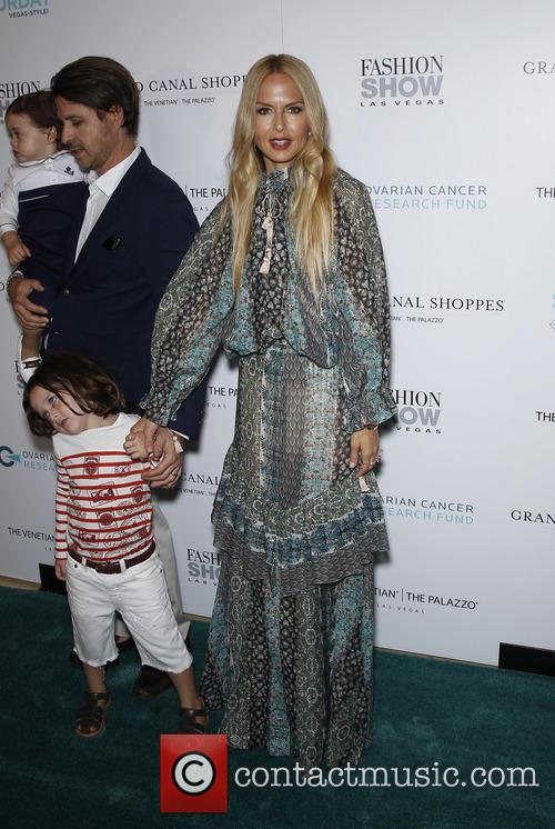 Rodger Berman, Rachel Zoe, Skyler Berman and Kaius Berman 1
