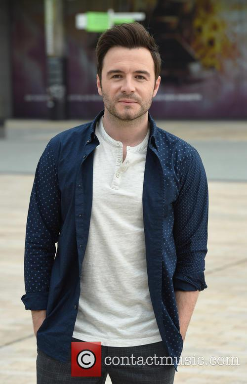 Shane Filan at the BBC Breakfast studios