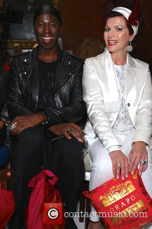 Miss J Alexander and Cleo Rocos