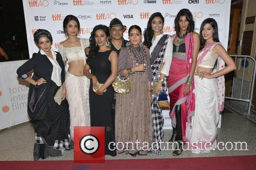 Rajshri Deshpande, Sarah-jane Dias, Tannishtha Chatterjee, Pan Nalin, Sandhya Mridul, Pavleen Gujral, Anushka Manchanda and Amrit Maghera 2