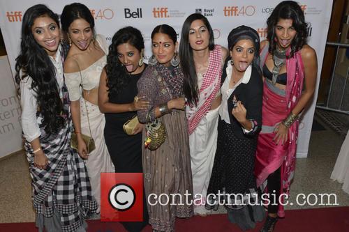 Rajshri Deshpande, Sarah-jane Dias, Tannishtha Chatterjee, Pan Nalin, Sandhya Mridul, Pavleen Gujral, Anushka Manchanda and Amrit Maghera 1