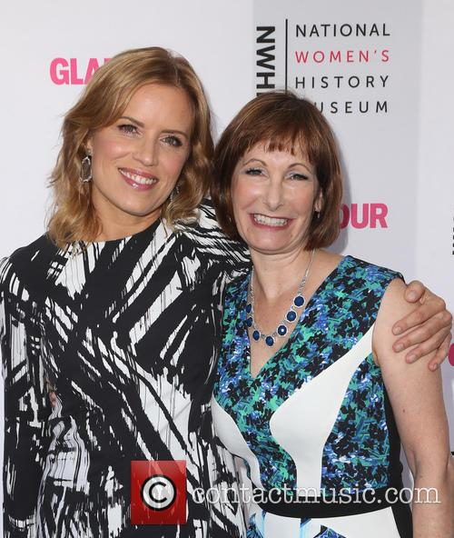 Kim Dickens and Gale Anne Hurd 4