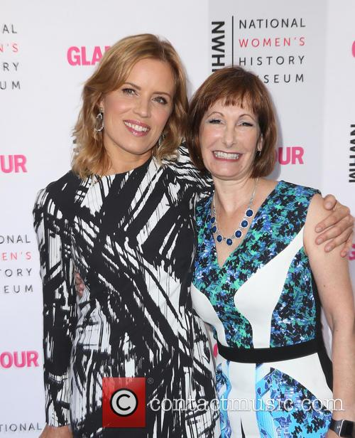 Kim Dickens and Gale Anne Hurd 1