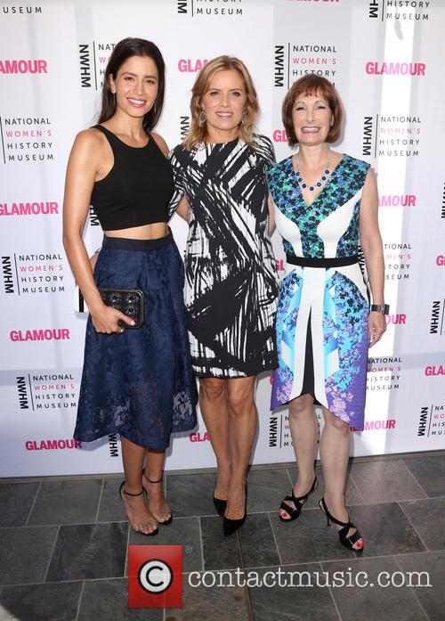 Mercedes Maso, Kim Dickens and Gale Anne Hurd 2