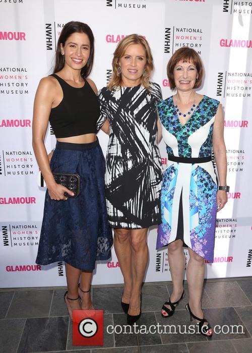 Mercedes Maso, Kim Dickens and Gale Anne Hurd 5