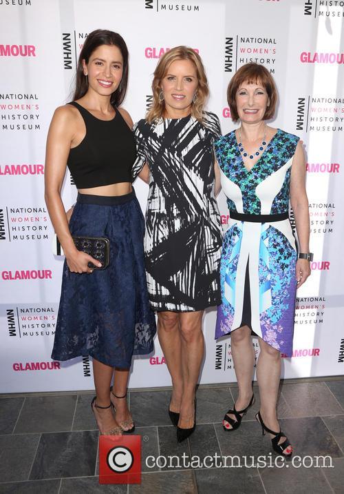 Mercedes Maso, Kim Dickens and Gale Anne Hurd 1