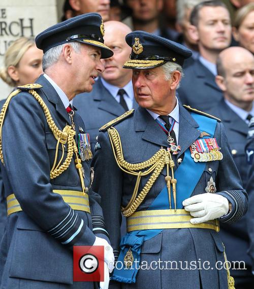 Prince Charles and Air Marshal Andrew Pulford 5