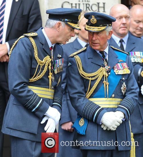 Prince Charles and Air Marshal Andrew Pulford 6