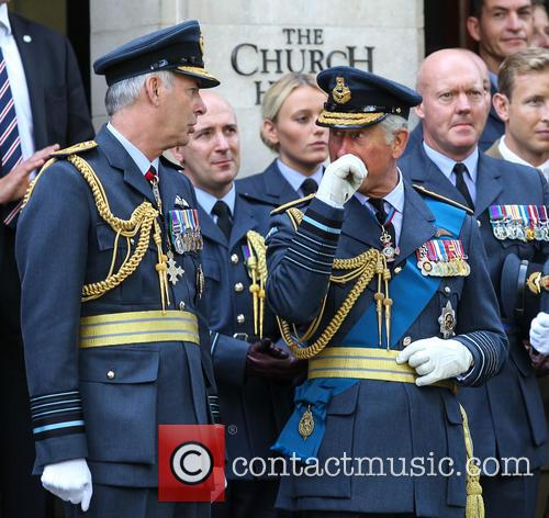 Prince Charles and Air Marshal Andrew Pulford 1