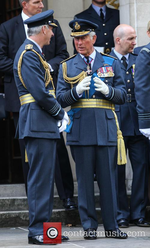 Prince Charles and Air Marshal Andrew Pulford 7