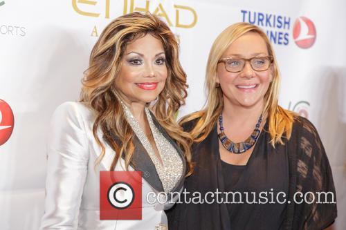La Toya Jackson and Nicole Sullivan 1