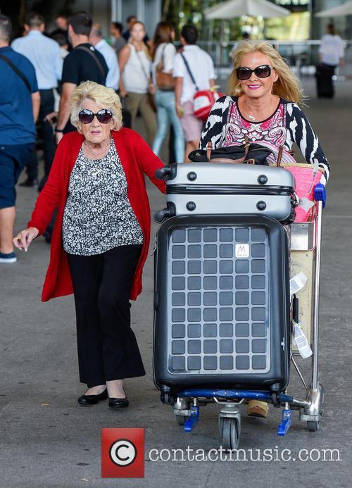 Nanny Pat and Carole Wright 1