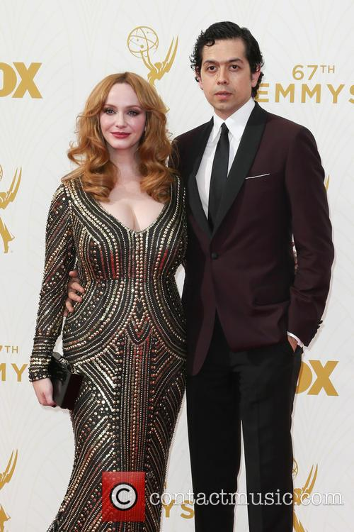 Christina Hendricks and Geoffrey Arend 1