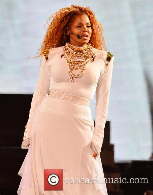 Janet Jackson performs live