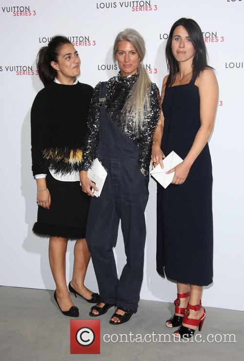 Camille Miceli, Lauren Santo Domingo and Marie Amelie Sauve 1