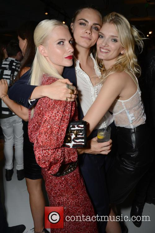 Poppy Delevingne, Cara Delevingne and Lily Donaldson 2