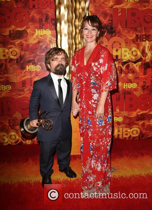 Peter Dinklage and Erica Schmidt 1
