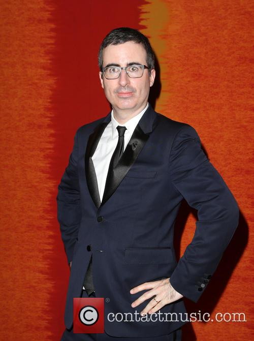 John Oliver at the Emmys after party