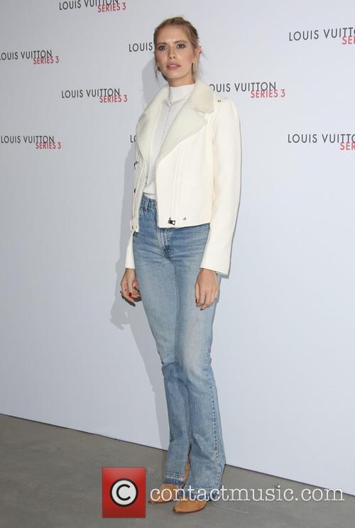 Louis Vuitton and Elena Perminova 2