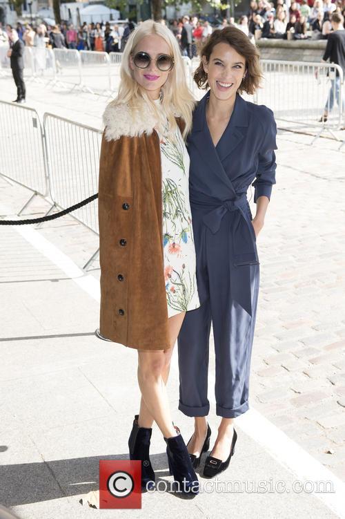 Poppy Delevingne and Alexa Chung 2