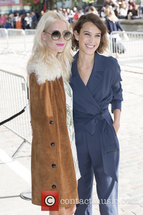 Poppy Delevingne and Alexa Chung 1
