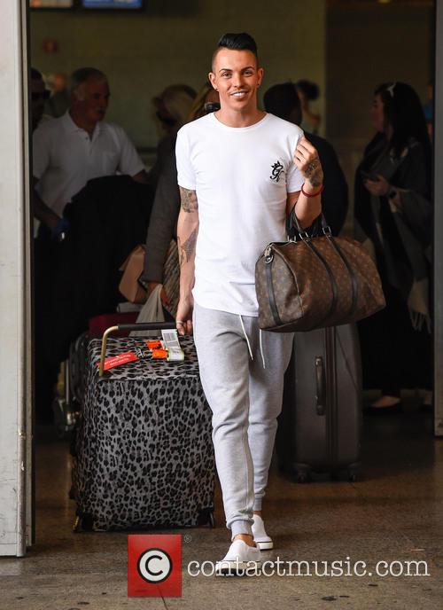 TOWIE stars arrive in Marbella for filming The...