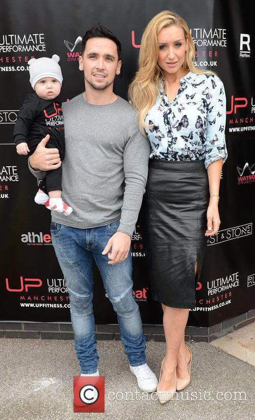 Cath Tyldesley, Tom Pitfield and Son Alfie 1