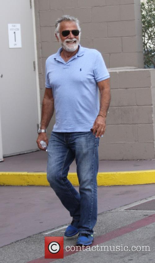 Jonathan Goldsmith goes shopping in Beverly Hills