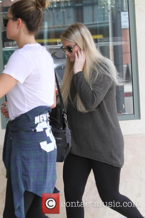 Meghan Trainor out and about in Beverly Hills