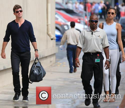 Robin Thicke and April Love Geary 2