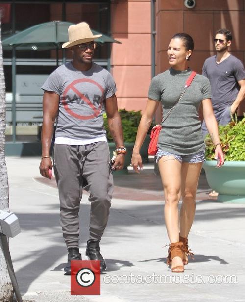 Taye Diggs and Amanza Smith Brown 3