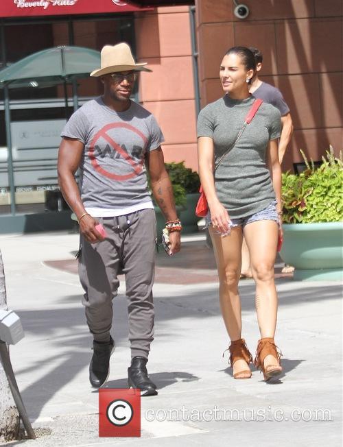 Taye Diggs and Amanza Smith Brown 4