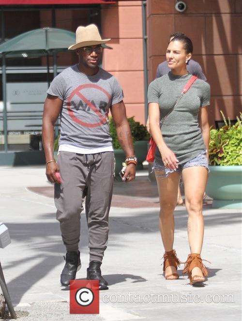 Taye Diggs and Amanza Smith Brown 5